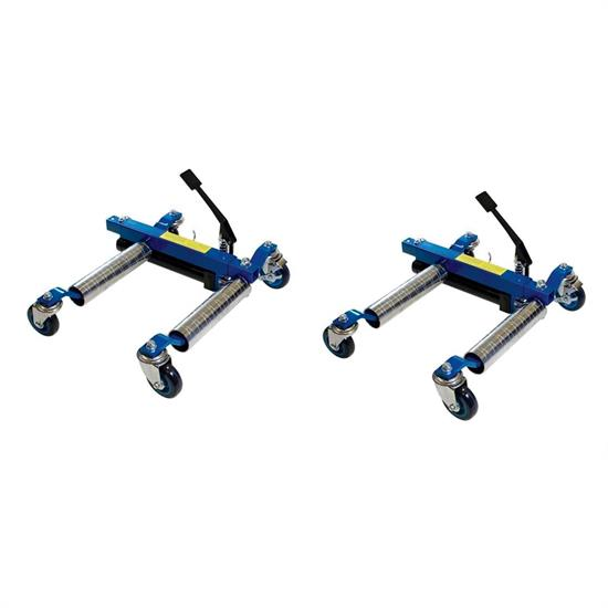 United Pacific 98999 Deluxe Heavy Duty Car Wheel Dolly Jack, Pair