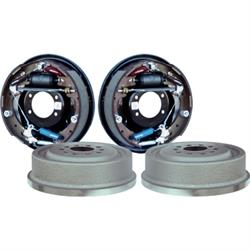 Currie 96227 9 Inch Ford 11 x 2-1/4 Drum Brake Kit, 5 on 4.5/4.75 BP