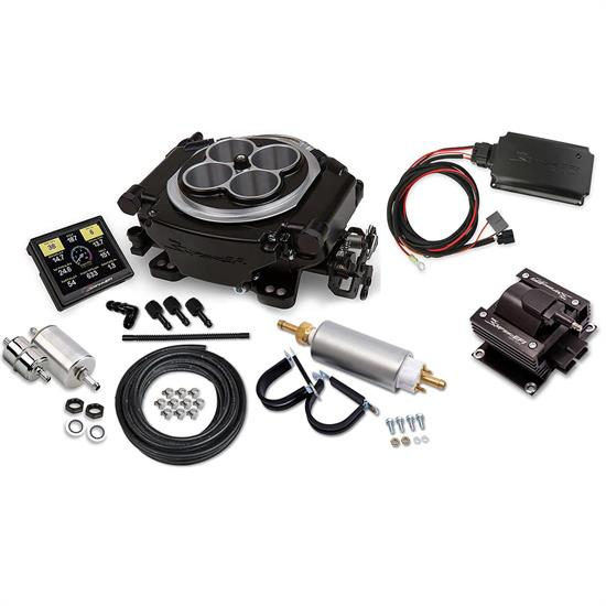 Holley Sniper 550-511K 4150 Self-Tuning EFI Kit/Ignition Box/Coil