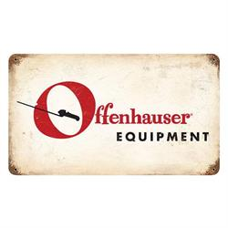 Offenhauser Vintage Tin Sign