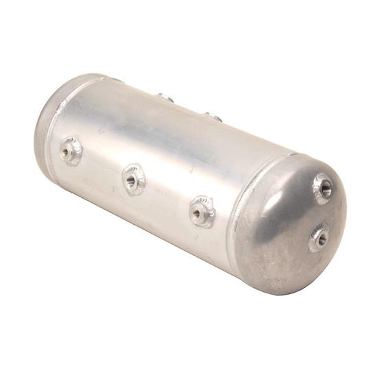 AVS AVS-TK3ALUM-RW-NB 3-Gallon Aluminum Air Suspension Tank, Raw