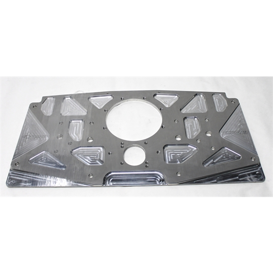 Garage Sale - Small Block Chevy Aluminum Rear Motor Plate, Plain