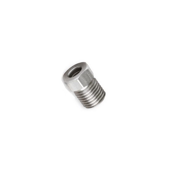 Universal Fit 9 16 18 Thread Pitch IF Male Fitting End A Stainless Steel
