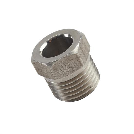 Speedway Stainless Steel 5/8 Inch Fitting Tube Nut, 3/8 Tubing