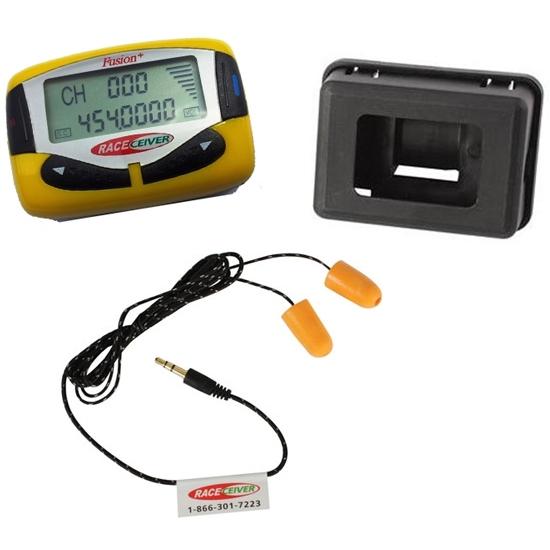 RACEceiver Fusion Driver Radio w// Earbuds /& Car Box