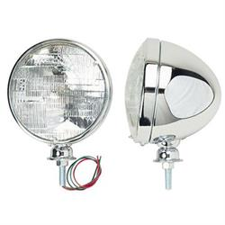 Chrome Dietz Type Headlights, Halogen Bulb