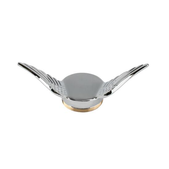 Model T Gull Wing Cap, Chrome, Undrilled
