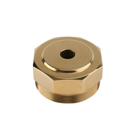 Model T Hex Radiator Cap, Brass, Drilled