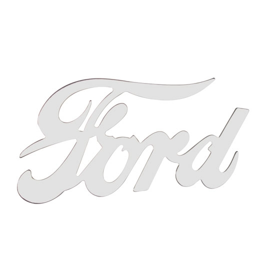 Ford Script Emblem, Chrome