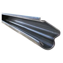 M1628 1966 67 Chevy Nova Stainless Door Drip Rail Moldings 2 Pieces Set