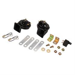 Speedway Black 12 Volt Horn Kit