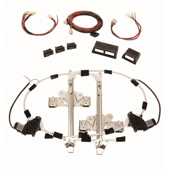 Details about Speedway Universal Hotrod Electric Power Window Conversion  Installation Kit