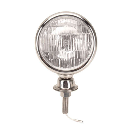 Speedway motors stainless steel tear drop 12 volt fog for Lamp and lighting warehouse lincoln ne
