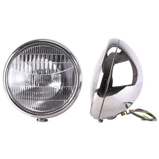 Sdway 1932 Ford 12 Volt Headlights, Stainless Steel on