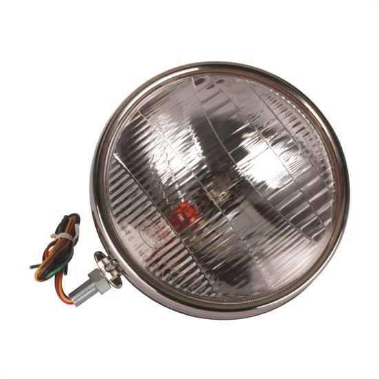 1934 Ford Commercial Headlilghts, 12V Halogen, W/ Turn Signal