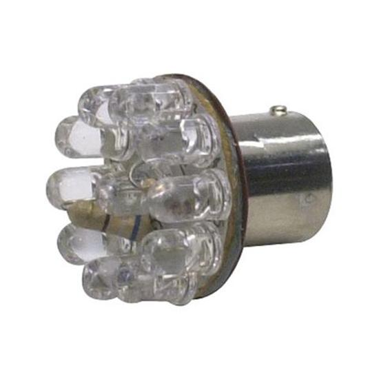 1156 LED Tail Light Bulb, 1 Inch, Amber