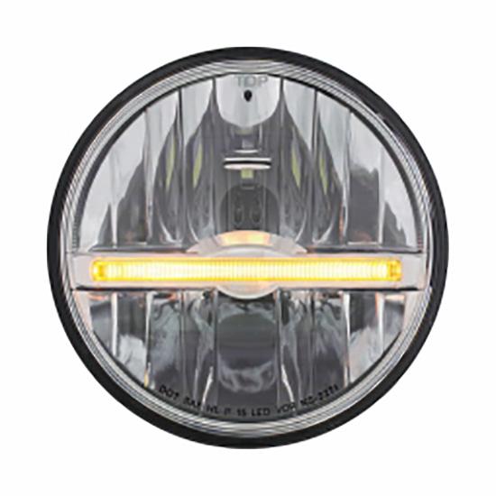 united pacific 31259 led headlight amber 5 3 4 inch rh speedwaymotors com