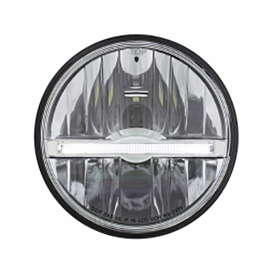 United Pacific 31267 LED Headlight, White, 5-3/4 Inch