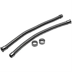 Stainless Steel Headlight Conduit Set, 12 Inch