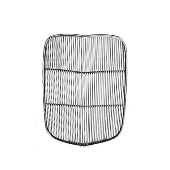 Speedway 1932 Ford Stainless Grille Insert, Chopped 4-1/2 Inches