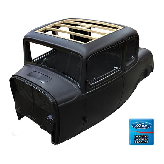 United Pacific B20000-A 1932 Ford 5 Window Coupe Body, W/Cowl Vent