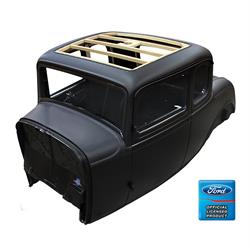 United Pacific B20000-C 1932 Ford 5 Window Coupe Body, Original Roof