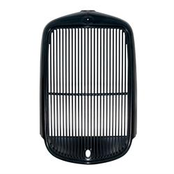 United Pacific B21340 Radiator Grill Shell, 1932 Ford Truck, Black