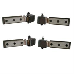 Universal Hidden Door Hinges, Adjustable Offset Arm