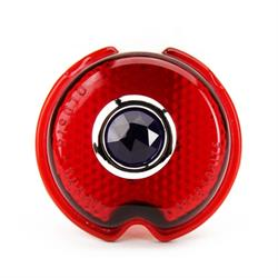 1939 Chevy Glass Taillight Lens w/Blue Dot