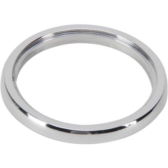 "Docs Kustom 30009 3 3/8"" Aluminum Gauge Bezel, Polished Finish"