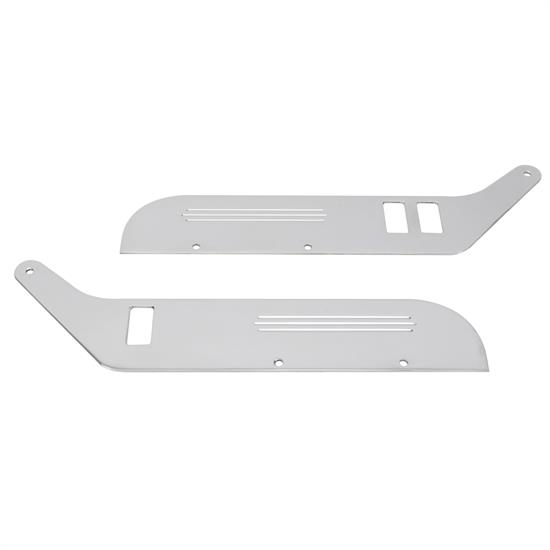 Arm Reest Back Plates, BIllet Aluminum Construction