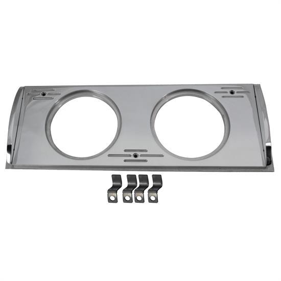 3 8 3 8 Indicator : Aluminum dual gauge panel inch chevy truck