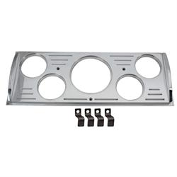 Aluminum 5 Gauge Dash Panel, 2-1/16 Inch, 1941-46 Chevy Truck