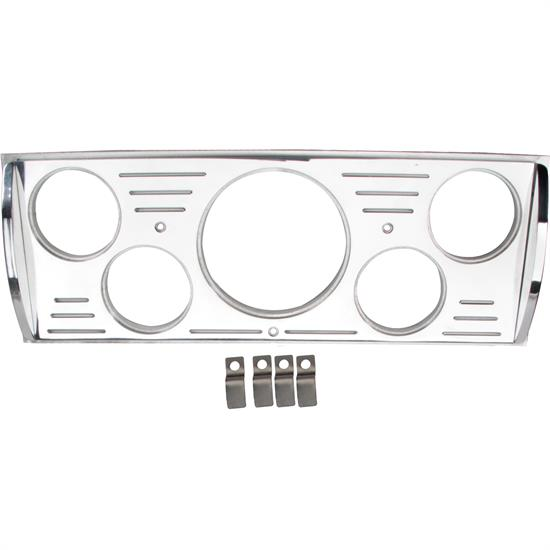 Aluminum 5 Gauge Dash Panel, 1941-46 Chevy Truck