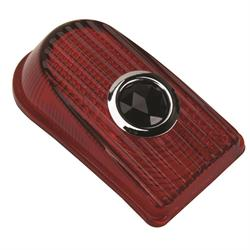 1949-1950 Chevy Glass Blue Dot Tail Light Lens