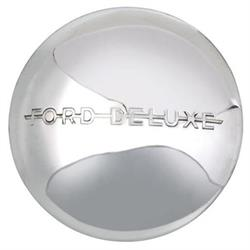 1940 Ford Deluxe Hubcap, Stainless Steel