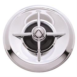 1957 Lancer Chrome 15 Inch Hubcaps, Set of 4