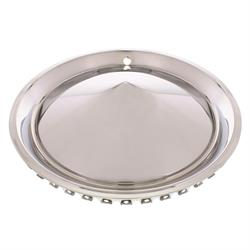 1957 Plymouth Cone Style Hubcaps, 15 Inch, Chrome, Set of 4