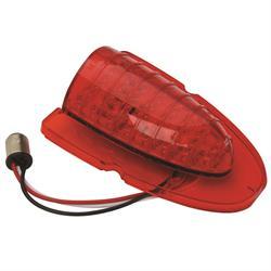1954 Chevy Red LED Upper Tail Light Lens
