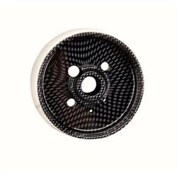 GM Aluminum Carbon Fiber Steering Wheel Adapter, 9 Bolt