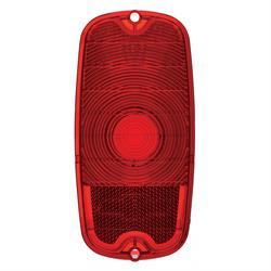 United Pacific C606609 Red Tail Light Lens, 1960-66 GM Pickup