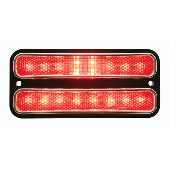 1968-72 Chevy Truck LED Side Marker Light, Red