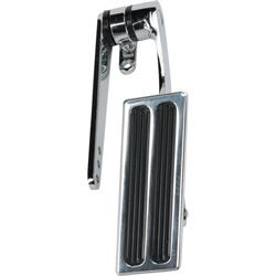 Speedway Polished Aluminum Small Street Rod Gas Pedal Universal