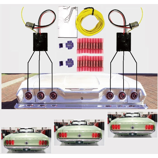 Speedway Sequential Led Tail Light Kit Ebay