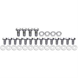 Chrome Oil Pan Bolts for Small Block Chevy