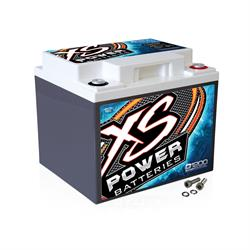 XS Power D1200 12 Volt Deep Cycle AGM Battery, 7.8 x 6.69 x 6.54 Inch
