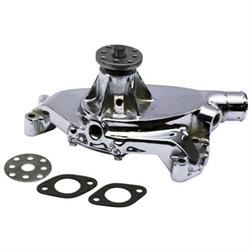 King Chrome B/B Chevy 1965-68 Short Water Pump