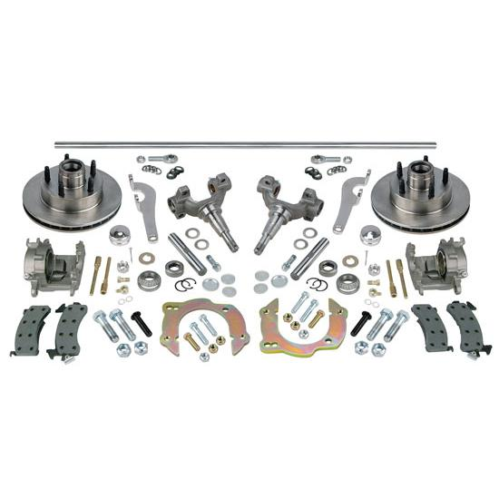 Chevy Front Axle Steering & Brake Kit, 48 Inch Axle
