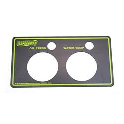 Garage Sale - Speedway Gauge Panels w/Light Openings