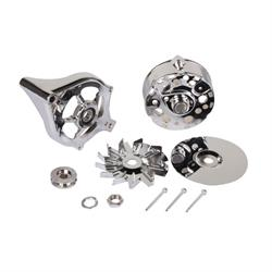 King Chrome 1965-81 Ford Chrome Alternator Dress Up Kit